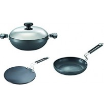 Prestige Hard Anodised Cookware Set Build Your Kitchen